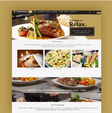 האתר Fresh and easy