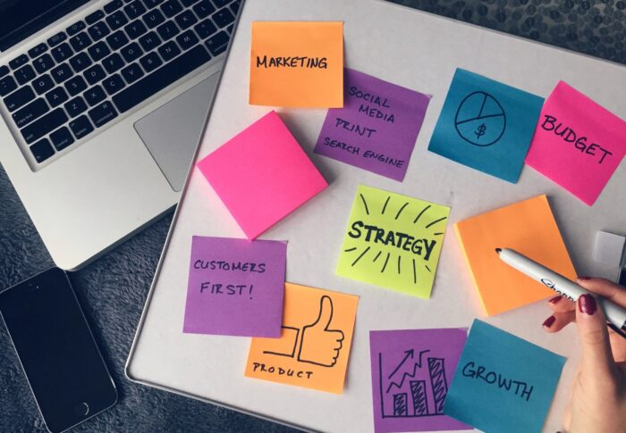 Defining a content marketing strategy